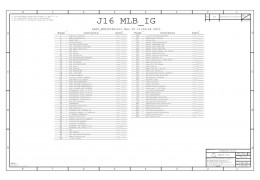 APPLE  J16 MLB_IG 820-3588-A 051-0164 SCHEMATIC