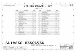 APPLE J92 DVT NEWARK  820-00045 051-00107  SCHEMATIC