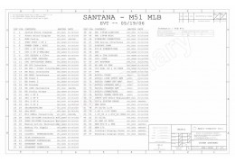 APPLE IMAC 24″ LOGIC BOARD SCHEMATIC – APPLE SANTANA – M51 MLB EVT