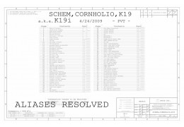 APPLE A1286 K19I  SCHEMATIC - 820-2533  051-7903