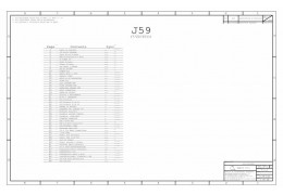 APPLE 051-8774 - SCH, J59, MLB SCHEMATIC