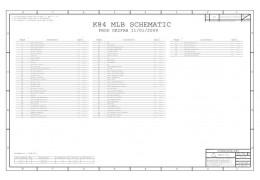 APPLE MACBOOK UNIBODY A1342 SCHEMATIC – 820-2567 – SCHEM,MLB,K84