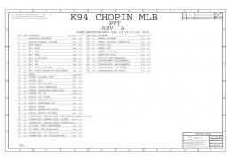APPLE IPAD2 SCHEMATIC –  K94 CHOPIN MLB SCHEMATIC
