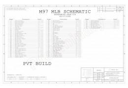 APPLE MACBOOK 13″ UNIBODY A1278 SCHEMATIC – SCHEM,MLB,M97