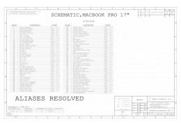 APPLE MACBOOK PRO 17″ A1212  SCHEMATIC