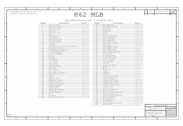 APPLE IMAC 27″ A1312 SCHEMATIC – 820-2828 – SCH,K62,MLB
