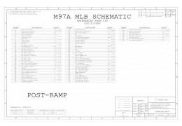 APPLE MACBOOK 13″ UNIBODY A1278 SCHEMATIC – M97A – 820-2327